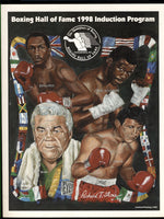 1998 BOXING HALL OF FAME INDUCTION PROGRAM