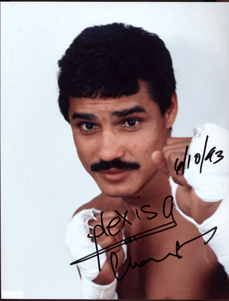 ARGUELLO, ALEXIS SIGNED PHOTO