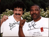 PRYOR, AARON & ALEXIS ARGUELLO SIGNED PHOTO