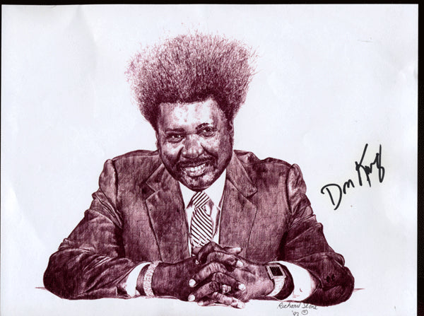 KING, DON SIGNED PHOTO