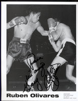 OLIVARES, RUBEN SIGNED PHOTO