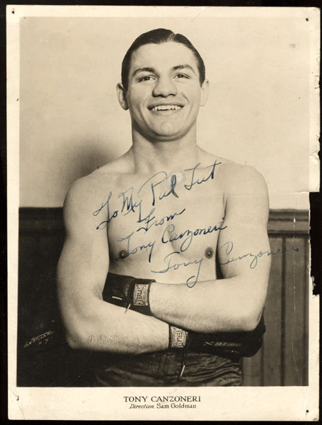 CANZONERI, TONY SIGNED PHOTO