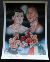 HATTON, RICKEY SIGNED LITHOGRAPH (AL GAVIN COLLECTION)