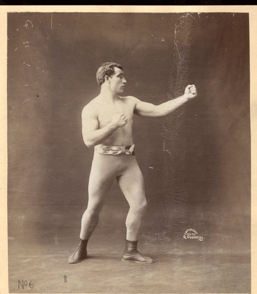 SHARKEY, TOM ANTIQUE PHOTO (1900)