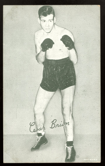 BRION, CESAR EXHIBIT CARD