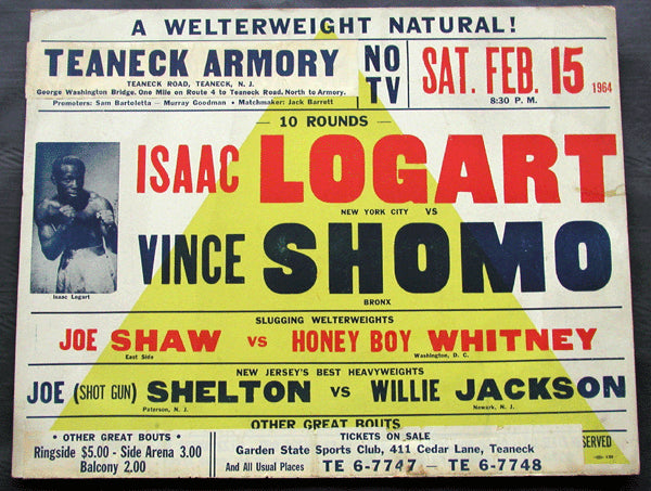 LOGART, ISSAC-VINCE SHOMO ON SITE POSTER (1964)