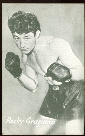 GRAZIANO, ROCKY EXHIBIT CARD