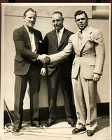 WALKER, MICKEY & ACE HUDKINS WIRE PHOTO (1929)