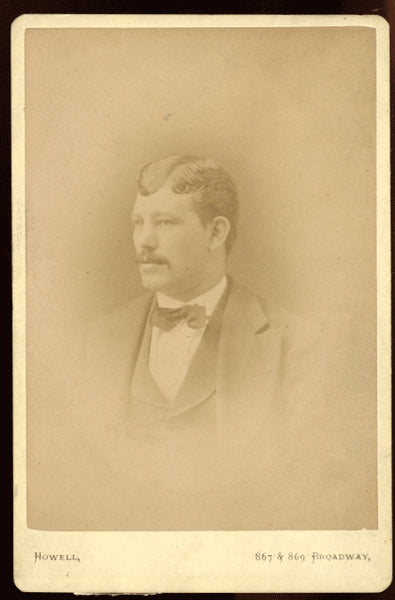 CHAMBERS, ARTHUR CABINET CARD