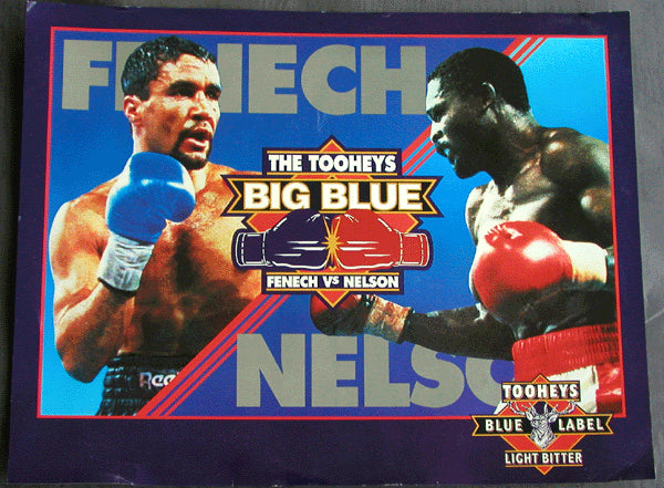 FENECH, JEFF-AZUMAH NELSON ADVERTISING POSTER (1992)