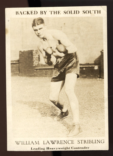 STRIBLING, YOUNG PROMOTIONAL PHOTO CARD