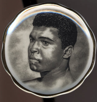ALI, MUHAMMAD SMALL COLLECTOR PLATE