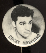 Marciano.Rocky Original Pinback Button