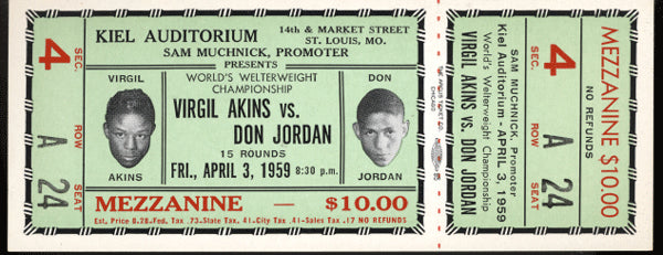 JORDAN, DON-VIRGIL AKINS FULL TICKET (1959_
