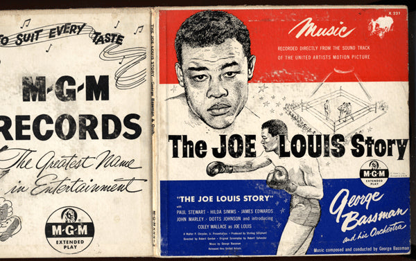 LOUIS, JOE TWO RECORD SET (STORY OF HIS LIFE)