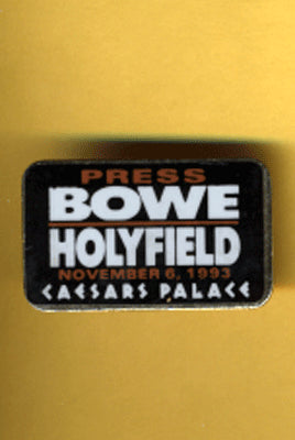 BOWE, RIDDICK-EVANDER HOLYFIELD III PRESS PIN (1995)