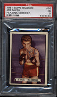 Miceli,Joe Signed 1951 Topps Ringside PSA