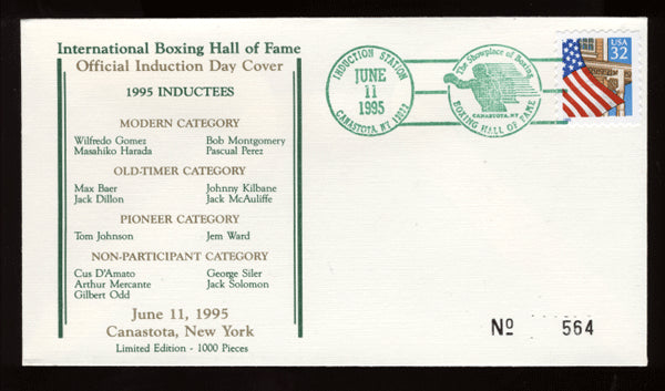 1995 Boxing Hall of Fame Cache