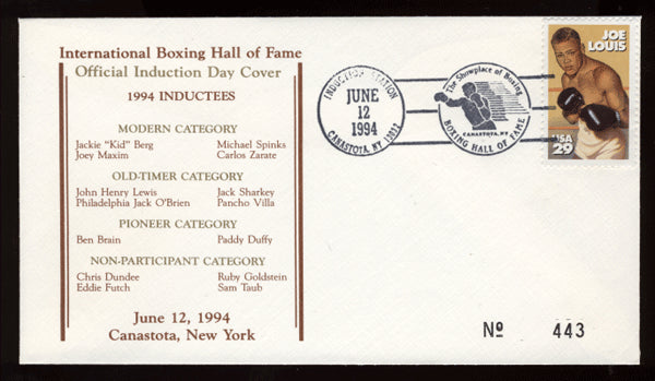 1994 Boxing Hall of Fame Cache