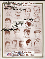 1993 Boxing Hall of Fame Program with Signatures