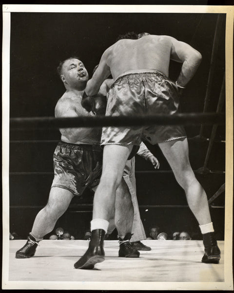 Baer,Max-Galento Vintage Photo in Action 1940