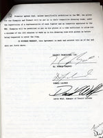 LaLonde,Donny Signed Contract  1988