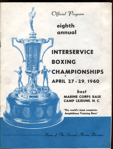 1060 Interservice Boxing Championships Program (Bob Foster)