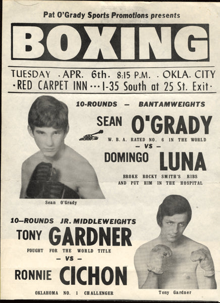 O'Grady,Sean-Luna Advertising Broadside  1976