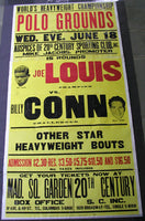 LOUIS, BILLY CONN I ON SITE POSTER(1941)