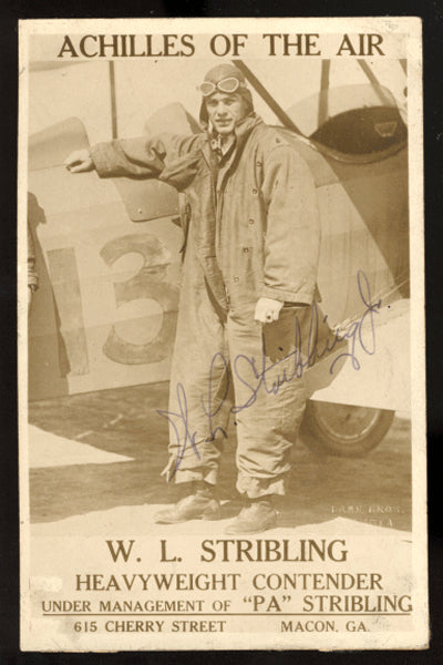 Stribling,Young Vintage Signed Promo Photo