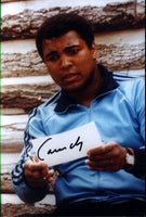 CLAY, CASSIUS SIGNED PHOTOGRAPH