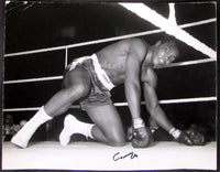 CLAY, CASSIUS SIGNED PHOTOGRAPH (COOPER I FIGHT)