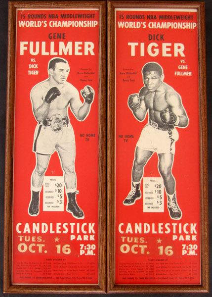 FULLMER, GENE-DICK TIGER ON SITE POSTERS (1962)