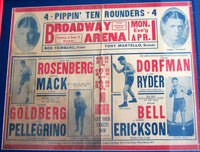 DORFMAN, SAMMY-JOE RYDER ON SITE POSTER (1929)