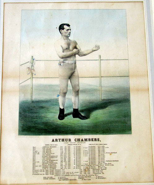 CHAMBERS, ARTHUR ORIGINAL PRINT (CURRIER & IVES)