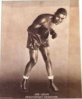 LOUIS, JOE PROMOTIONAL PHOTO POSTER (1935)