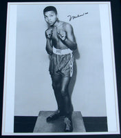 ALI, MUHAMMAD SIGNED PHOTOGRAPH (LARGE FORMAT-15 YEARS OLD)