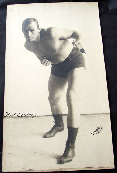 SQUIRES, BILLY ANTIQUE LARGE FORMAT PHOTO