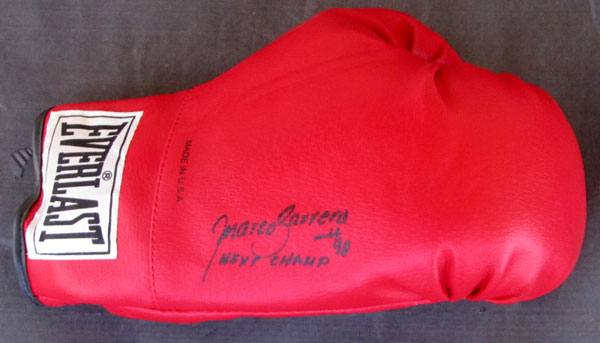 BARRERA, MARCO ANTONIO SIGNED GLOVE