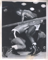 ROBINSON, SUGAR RAY-RANDY TURPIN II WIRE PHOTO (1951)