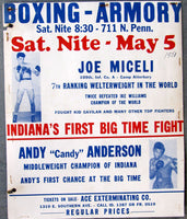 MICELI, JOE-ANDY ANDERSON ON SITE POSTER (1951)