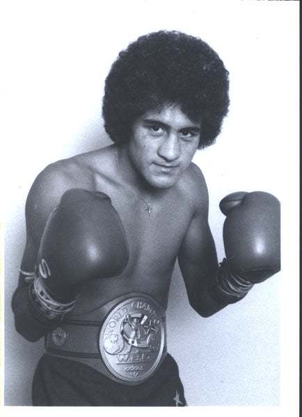 SANCHEZ, SALVADOR ORIGINAL PROMOTIONAL PHOTO (AS CHAMPION)