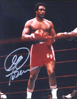 FOREMAN, GEORGE SIGNED PHOTOGRAPH (IN RING)