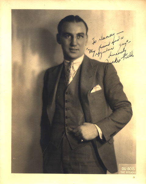 FIELDS, JACKIE VINTAGE SIGNED STUDIO PHOTOGRAPH