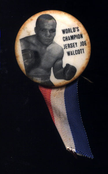 WALCOTT, JERSEY JOE PINBACK (AS CHAMPION)