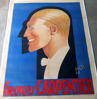 CARPENTIER, GEORGES ORIGINAL POSTER (BY DON)
