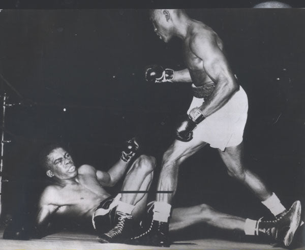 CARTER, JIMMY-IKE WILLIAMS ORIGINAL WIRE PHOTO (1951)