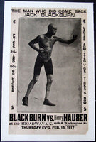 BLACKBURN, JACK-HENRY HAUBER ORIGINAL ON SITE POSTER (1917)