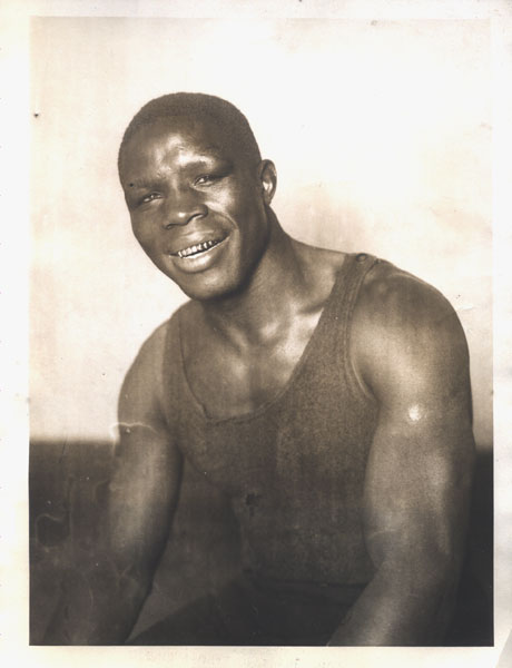 NORFOLK, KID ORIGINAL WIRE PHOTO (TRAINING FOR GIBBONS-1924)