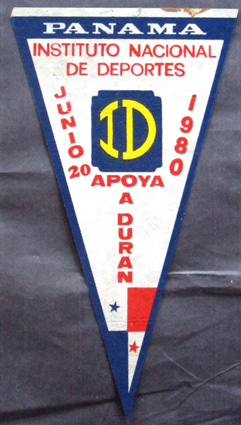 DURAN, ROBERTO PENNANT (FOR 1ST FIGHT WITH LEONARD-1980)